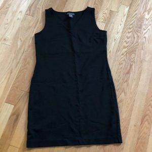 "Banana Republic sleeveless ""Little Black Dress""."